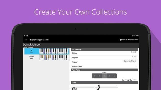 Piano Chords, Scales, Progression Companion PRO Ekran Görüntüsü 8