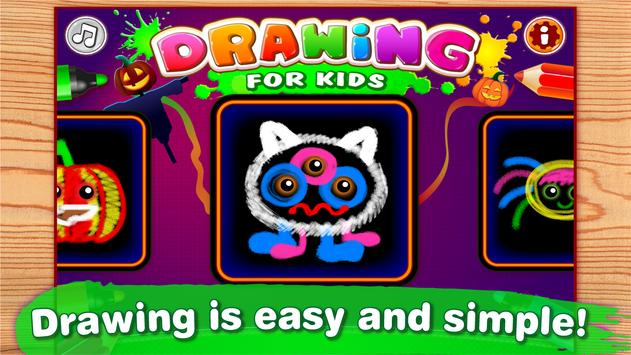 Kids Paint And Color Coloring Games For Toddlers Poster