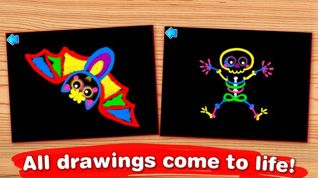 kids paint and color coloring games for toddlers apk screenshot