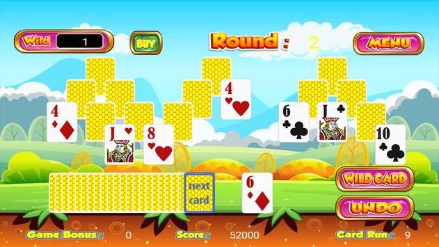 Tri Towers Tri Peaks Solitaire apk screenshot