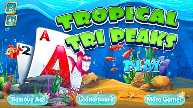Tri Peaks Solitaire Classic poster