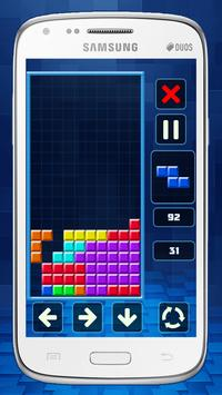 Retro Tetris Classic screenshot 3