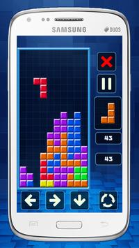Retro Tetris Classic screenshot 2