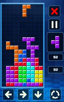 Retro Tetris Classic screenshot 4