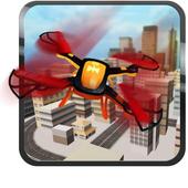 Quadrocopter Drone Drive Simulator icon