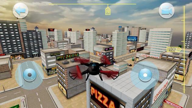 Quadrocopter Drone Drive Simulator poster