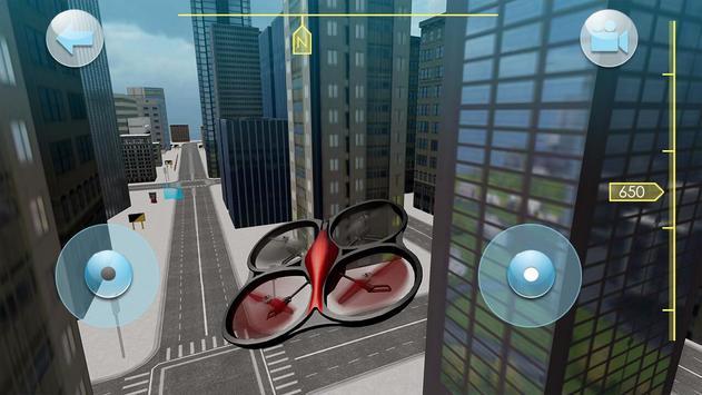 Quadrocopter Drone Drive Simulator screenshot 2