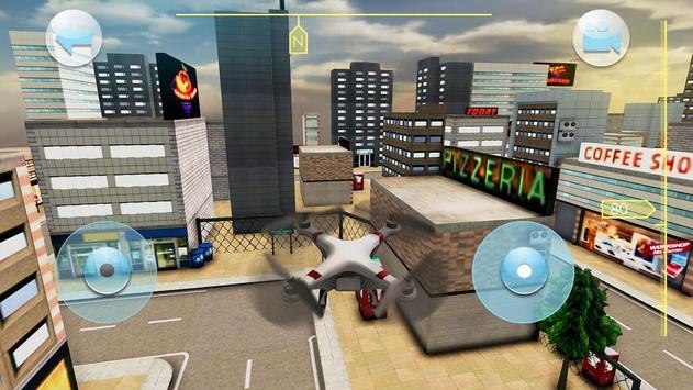 Quadrocopter Drone Drive Simulator screenshot 7