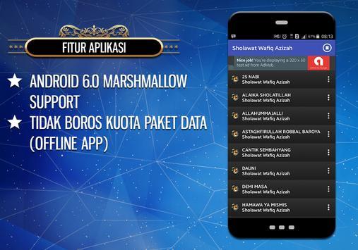Sholawat Wafiq Azizah apk screenshot