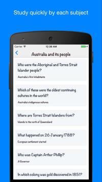 Australian Citizenship Test screenshot 6