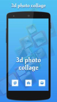 3D Photo Collage - Free poster