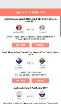 Live Cricket Score screenshot 4