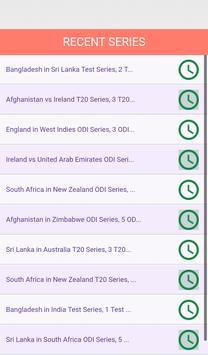 Live Cricket Score screenshot 5