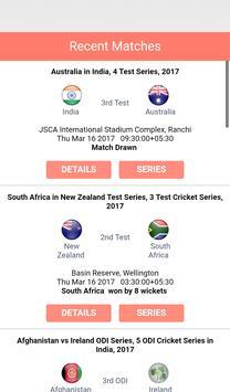 Live Cricket Score screenshot 3