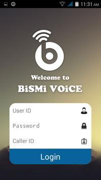Bismivoice poster