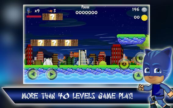 Catboy vs Night Ninja Games apk screenshot