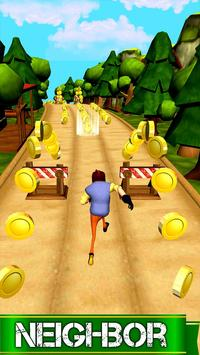 Hello: Subway Neighbor Surf screenshot 1