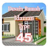 Desain Rumah Idaman Type 45 icon