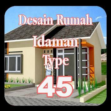 Desain Rumah Idaman Type 45 poster
