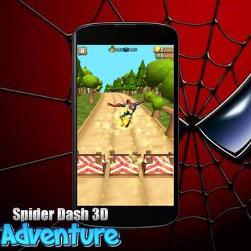 Spider Dash 3D World Adventure screenshot 1