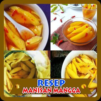 Resep Manisan Mangga poster