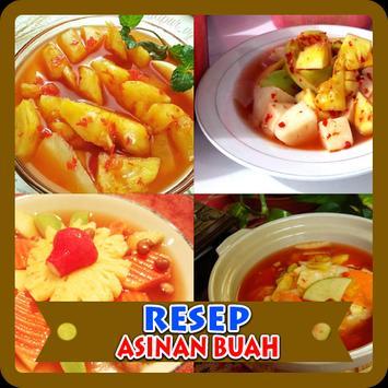 Resep Asinan Buah poster