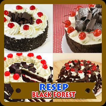 Kreasi Resep Black Forest poster