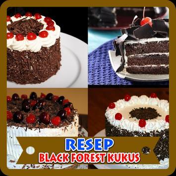 Aneka Resep Black Forest Kukus poster