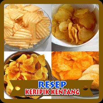 Resep Keripik Kentang poster