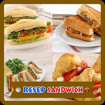 Kreasi Resep Sandwich poster