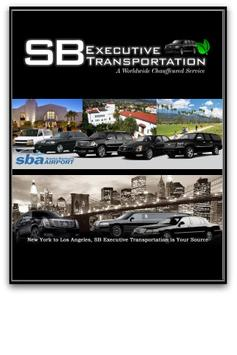 SB Executive Transportation poster