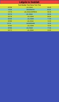 LALGOLA TRAIN TIME screenshot 3