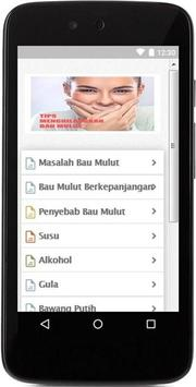 Tips Menghilangkan Bau Mulut screenshot 1