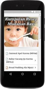 Kumpulan Resep Masakan Bayi apk screenshot
