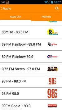 Greece Radio & TV streaming online apk screenshot