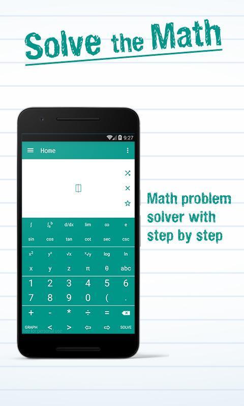 Math Solver with Steps APK Download - Gratis Pendidikan APL untuk ...