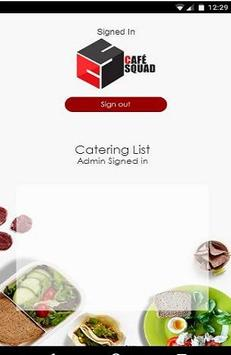 CafeSquad Catering screenshot 3