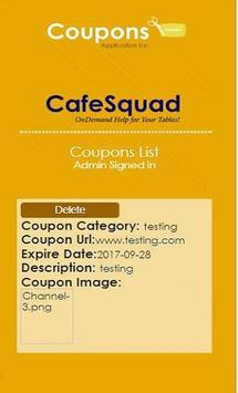 CafeSquad Coupon screenshot 3