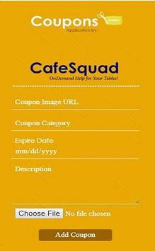 CafeSquad Coupon screenshot 2