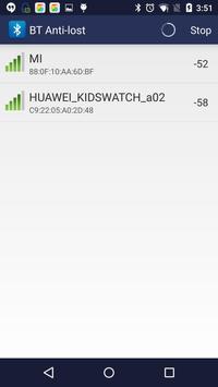 Bluetooth Anti-lost screenshot 1
