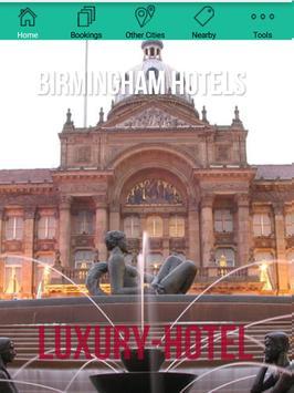 Birmingham Hotels poster