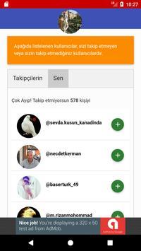 Follower Analysis for Instagram screenshot 1