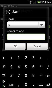 Phase 10 Score apk screenshot