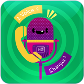 The voice call changer HD icon