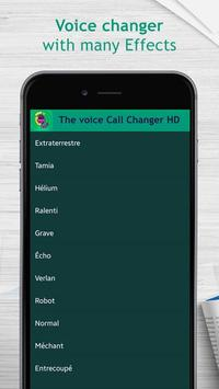 The voice call changer HD poster