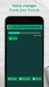 The voice call changer HD screenshot 2