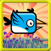 bird fly adventure icon
