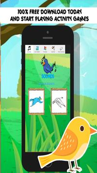 bird games for kids free angry poster