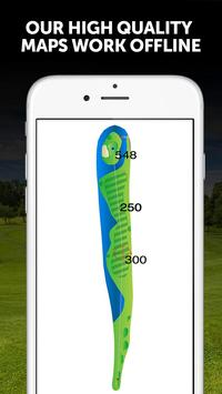 Golf GPS BirdieApps 截图 2