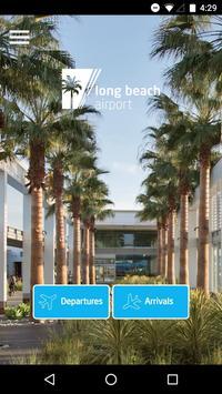 Go Long Beach Airport poster